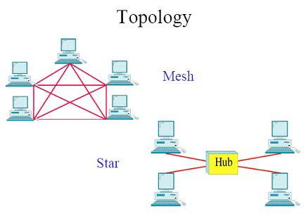 Mesh and Star Topology